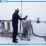 Manutenção de medidores magnéticos