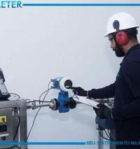 Calibração de medidores de vazão offshore