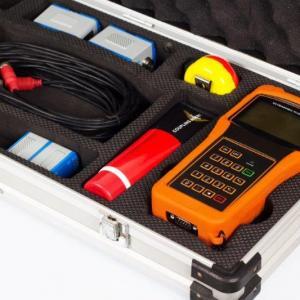 Medidor de vazão ultrassônico externo